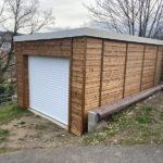 La mode des constructions garages ossatures bois